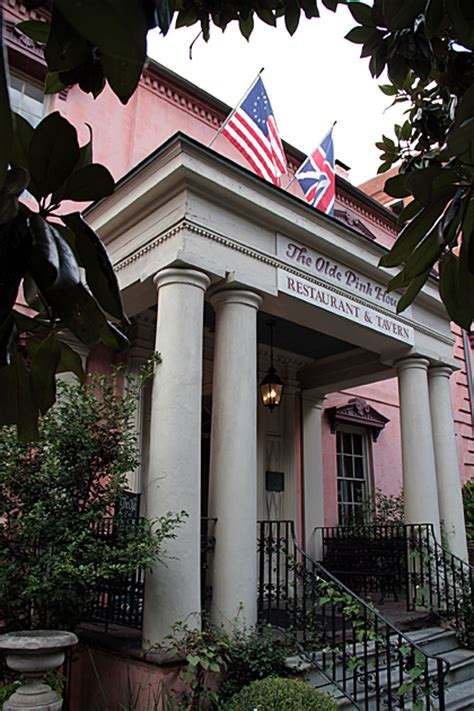 The Olde Pink House Ga by Dining At The Olde Pink House For 91 Days
