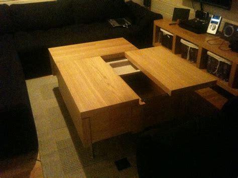 ikea malm desk hack malm coffee table ikea hackers ikea hackers