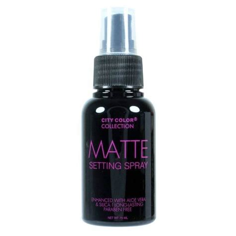 Make Up City Colour city color make up fixierspray matte setting spray