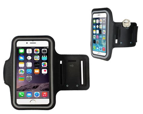 0 for an iphone running armband with key holder buytopia
