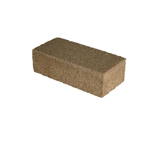 shop lee masonry concrete standard brick at lowes com