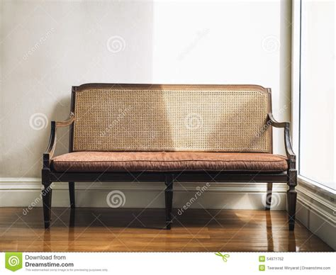 Vintage style bench home furniture decoration stock photo image 54971752