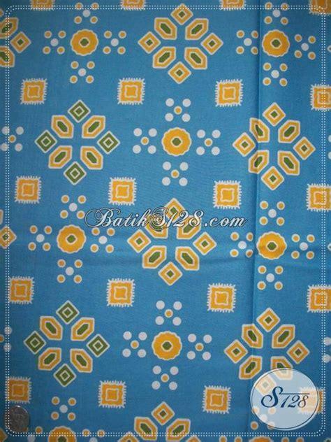 Kain Jumputan Dan Batik Printing kain batik murah motif jumputan warna biru kp547 toko