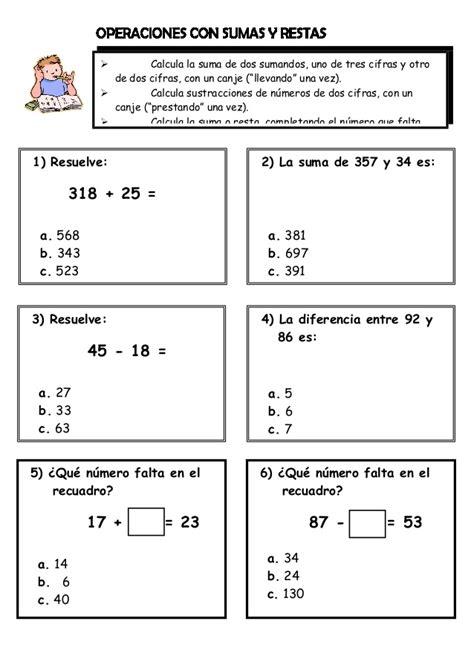 tarea de matem aticas para 3 grado ejercicios matematicos para 2 176 grado