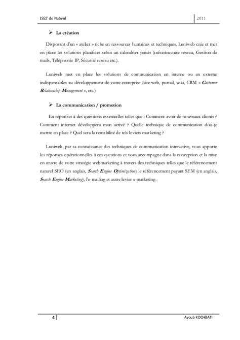 Rapport PFE 2011 Zimbra