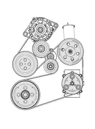 2003 ford taurus serpentine belt diagram need diagram to replace serpentine belt on ford taurus 3 0l