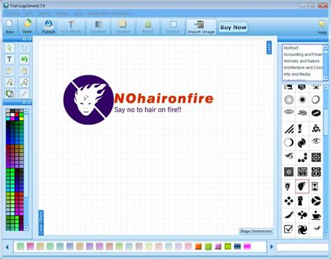 create logo design software logosmartz logo maker software