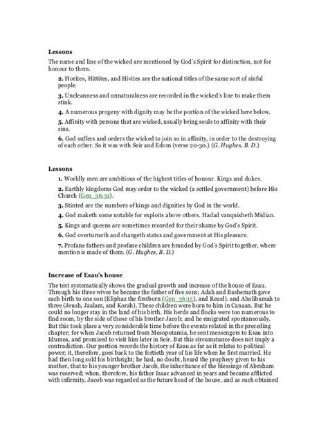 hivite spirit genesis 36 commentary