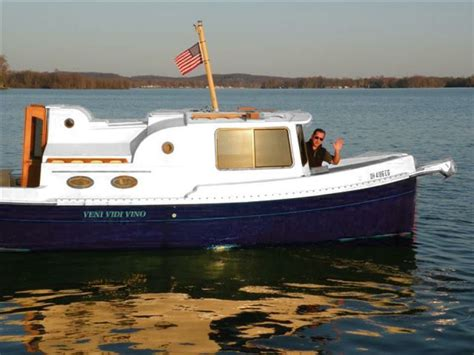 trailer trawler boats nimble nomad trailerable pocket trawler boat for sale from usa