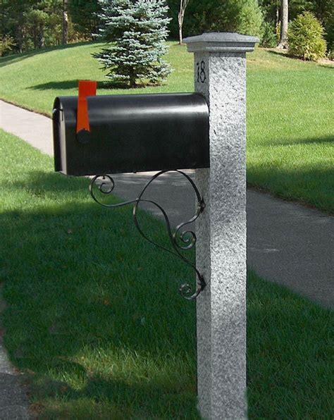 mailbox for granite mailbox post gallery westwood mills
