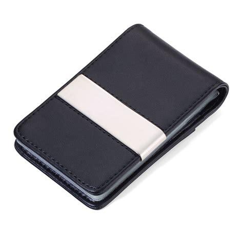porta carte credito porta carte di credito per 20 carte portafogli in pelle