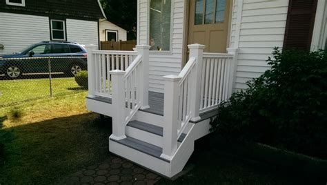 small front deck traditional new york