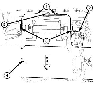 passenger side airbag removal on a 2002 lotus dodge ram 1500 how do i remove the passenger side airbag to