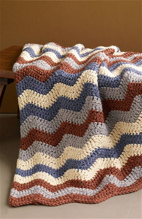 lion yarn pattern finder ravelry shaded ripple smoky mountain afghan pattern by