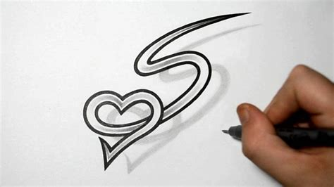 tattoo letter v designs letter s and combined design ideas for