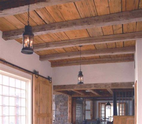 ceiling in dining wood for ceilings barn board ceiling