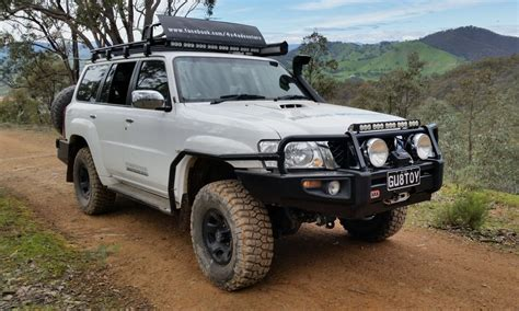 nissan patrol 1990 modified nigel s 2012 nissan patrol tourer loaded 4x4
