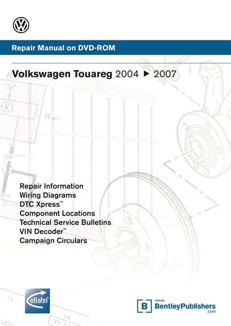 car repair manuals download 2009 volkswagen touareg 2 electronic toll collection front cover volkswagen touareg touareg 2 2004 2005 2006 2007 2008 2009 repair manual on