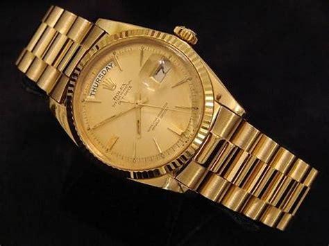 rolex gold watches fashion