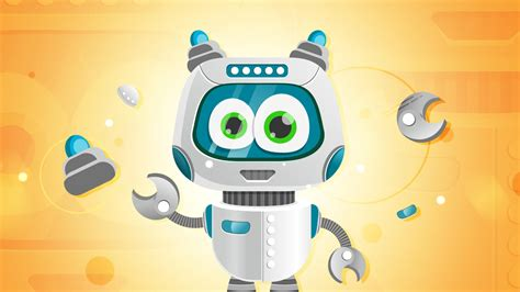 tutorial illustrator robot simple vector robot character in illustrator tutorial
