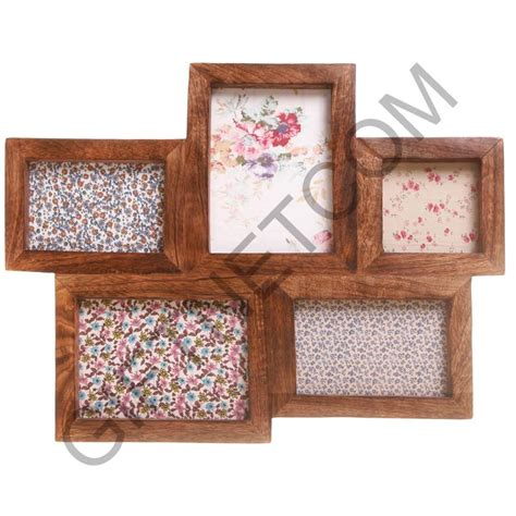 new vintage style photo frame multi picture 5 collage