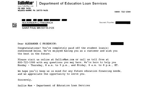 Letter To Bank For Student Loan The Student Loan Burden I M Finally Free Of On Cus