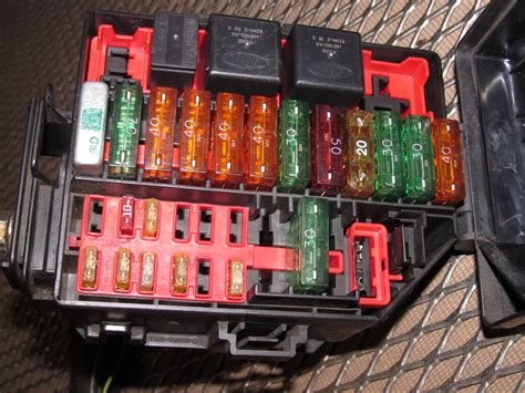 ford mustang   oem engine fuse box