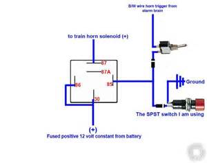 car alarm relay wiring diagram 12 volt air horn get