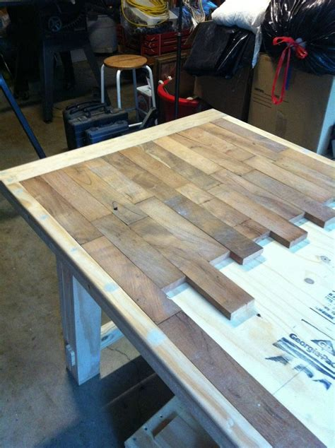 Dining Room Table Parts by Diy Wood Plank Kitchen Table Picture Step By Step Would