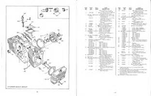 onan cck ccka engine parts service manual