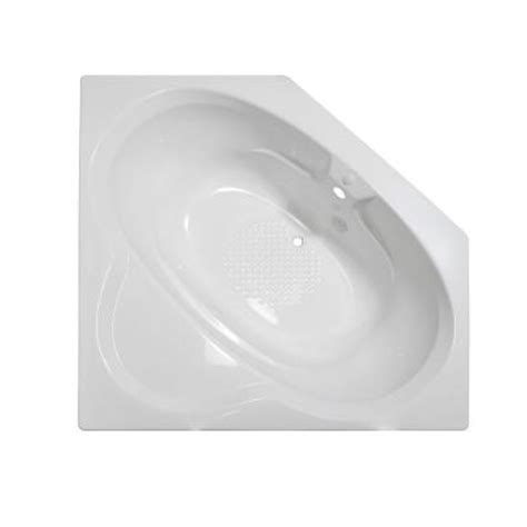 lyons industries bathtubs lyons industries classic 5 ft corner front drain heated