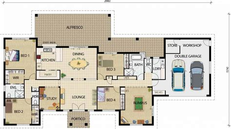 Open Floor Plans One Story by Best Open Floor House Plans Open Floor Plans One Story