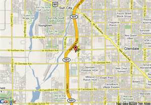 glendale arizona map map of springhill suites by marriott glendale