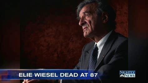 Palance Dies At 87 2 by Holocaust Survivor And Nobel Laureate Elie Wiesel Dead At