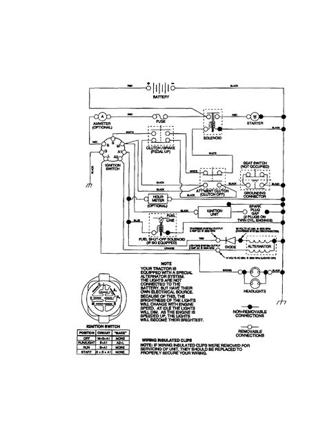 sears lt1000 wiring diagram sears get free image about