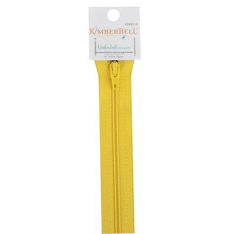 Zipper Yellow Claw 02 16 inch length yellow zipper kimberbell designs