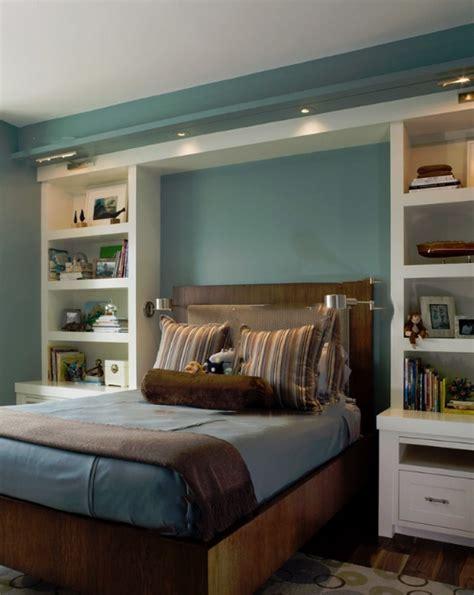 Schlafzimmer Wände Farblich Gestalten Braun by Wohnzimmer Blaue Wand