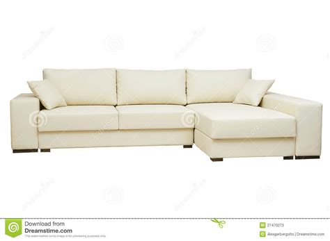 beautiful leather sofas beautiful leather sofa beige color on a white stock image