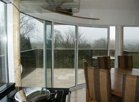 Curved Glass Sliding Doors Image Gallery Balcony Systems Curved Patio Doors