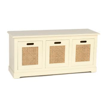 kirklands storage bench cream cane 3 drawer storage bench at kirklands kirklands