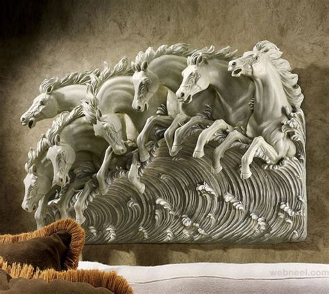 contemporary wall sculpture 50 beautiful wall sculptures around the world part 2
