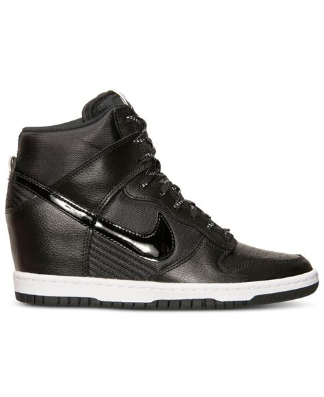 nike sky high sneakers nike s dunk sky hi essential sneakers from finish
