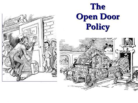 Open Door Policy China by Us Imperialism Sa
