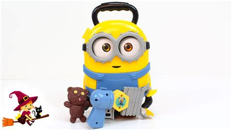 imagenes de minions juguete malet 237 n de los minions con sorpresa youtube