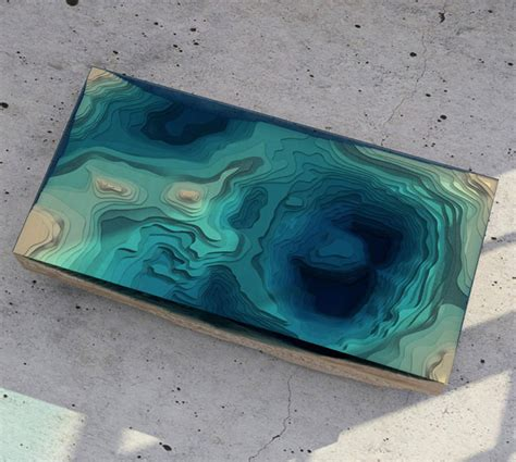 topography coffee table topographic tables 12 terrain inspired furniture designs
