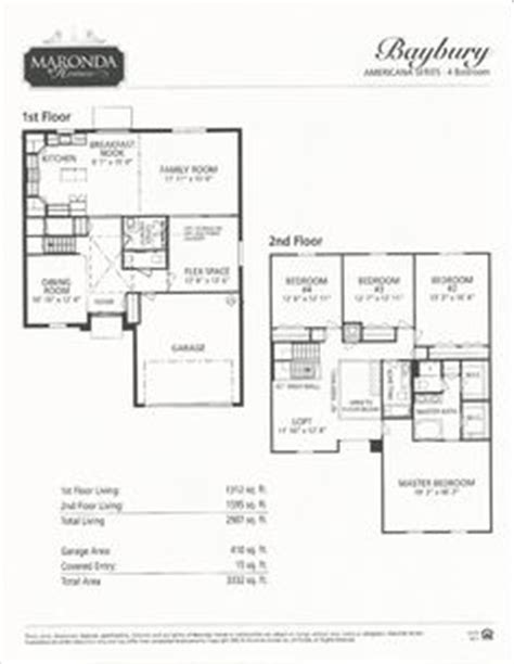 maronda homes baybury floor plan maronda homes floor plans mt vernon maronda free printable