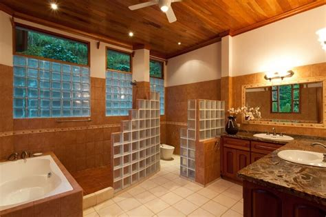 bathroom shower windows 40 master bathroom window ideas