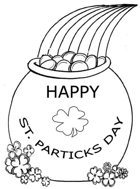 St Patricks Coloring Pages st patricks day coloring pages learn to coloring