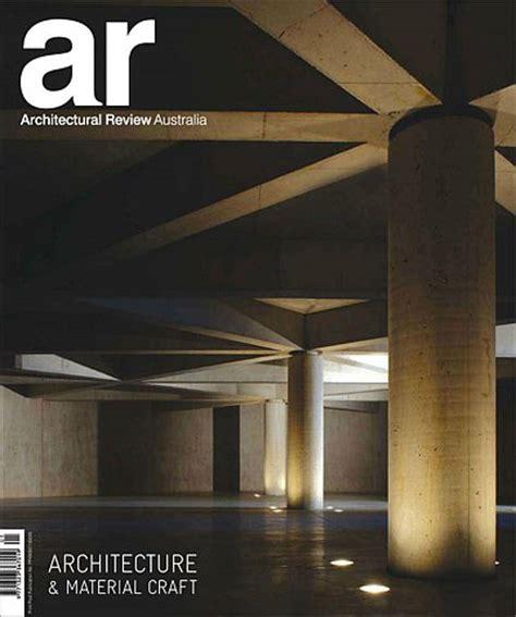 Architectural Review Australia Magazine Issue 119 187 Pdf Boca Design Architectural Review Magazine