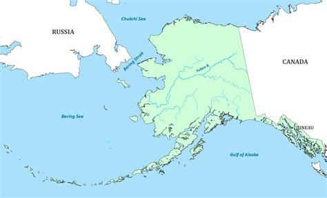 alaska state map alaska state map map of alaska and information about the